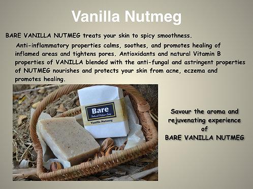 Bare Jamaican Natural Soap - Vanilla Nutmeg
