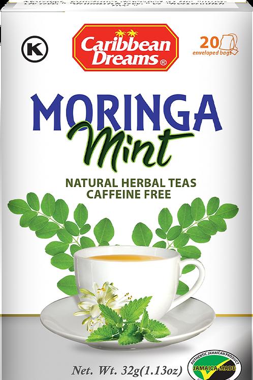 Caribbean Dreams Moringa Mint Tea Bags