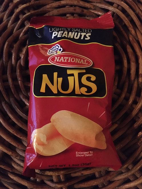 National Lightly Salted Peanuts (Product of Jamaica) 35gx7 (total 245g)