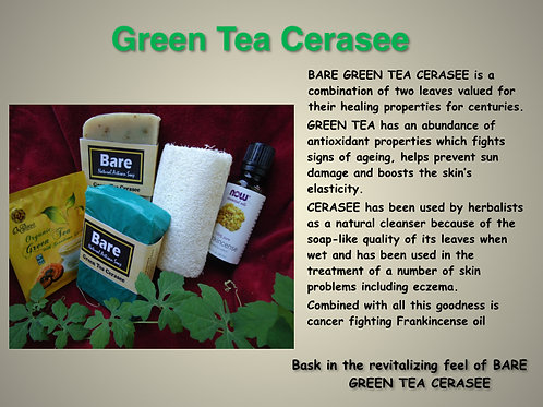 Bare Jamaican Natural Soap - Green Tea Cerasee