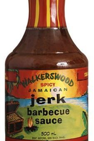 Walkerswood Spicy Jamaican Jerk Barbecue Sauce 500ml