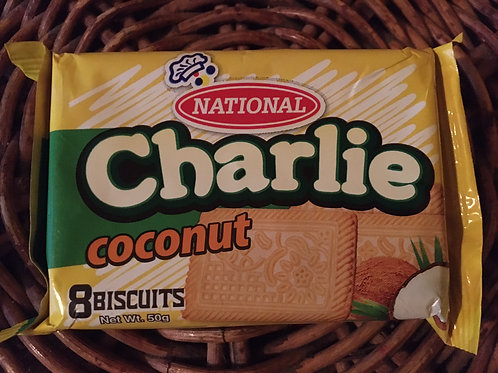 National Charlie Coconut Biscuits 50g x 3 (total 150g)
