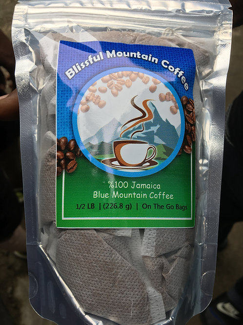 Blissful Mountain Coffee (Blue Mountain) 1/2LB