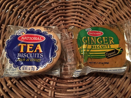 NATIONAL Ginger Biscuits 36g x 3 as 1 set