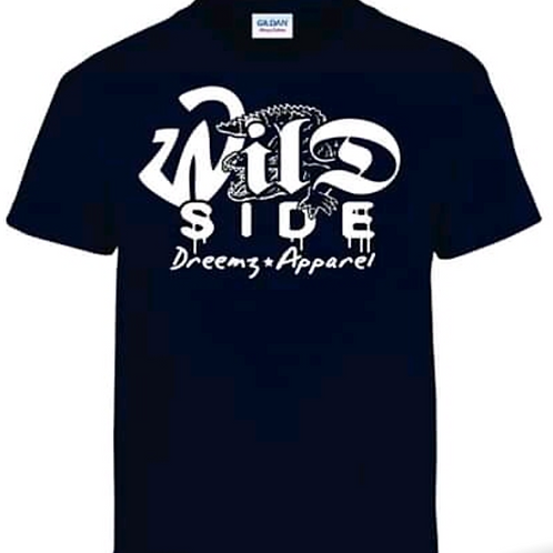 WILD SIDE Tshirts (black) - Dreemz Apparel