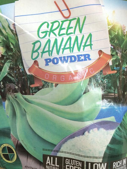 Organic Green Banana Powder
