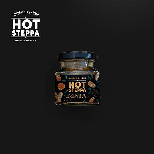 HOT STEPPA 100% JAMAICAN TURMERIC (2oz) Hopewell Farms