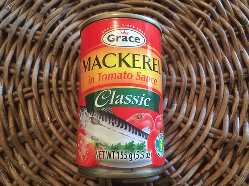 Grace Mackerel in Tomato Sauce Classic 155g (5.5oz)