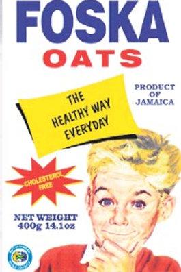 FOSKA Oats 400g - product of Jamaica -