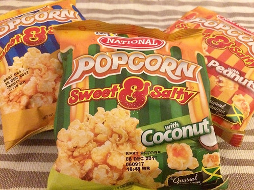 National Popcorn Sweet & Salty set (3 flavours)