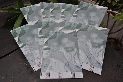 Augustus Pablo & Addis Pablo postcard(Rockers International merchandise)