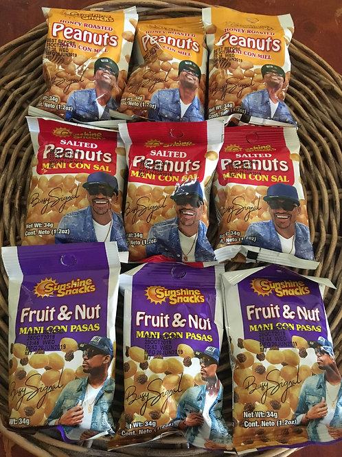 Sunshine Snacks Salted Peanuts 34g x 5 packs