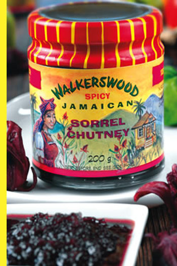 WALKERSWOOD Spicy Jamaican Sorrel Chutney 200g