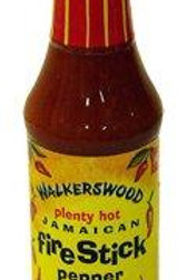 Walkerswood Plenty Hot Jamaican Fire Stick Pepper Sauce 100ml