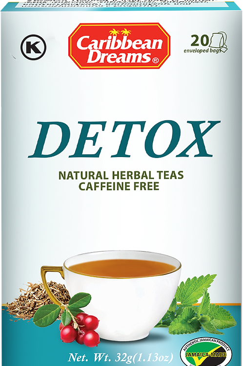 Caribbean Dreams Detox Tea Bags