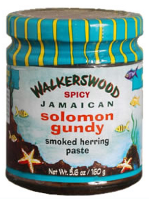 WALKERSWOOD Spicy Jamaican Solomon Gundy 160g