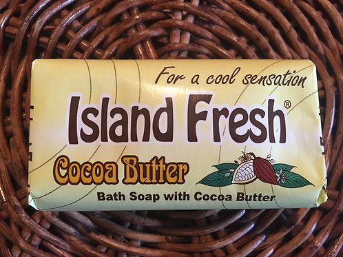 Island Fresh Cocoa Butter Bath Soap (product of Jamaica)