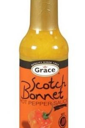 GRACE Scotch Bonnet Hot Pepper Sauce 142ml