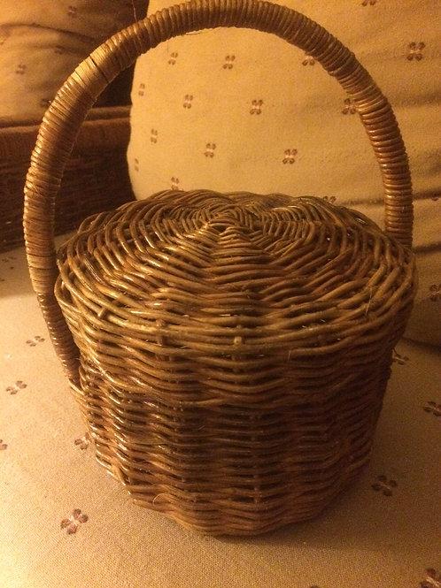 Wicker Basket Handbag 2 by Rastaman Owen