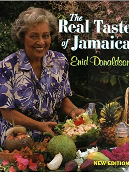 The Real Taste of Jamaica by Enid Donaldson
