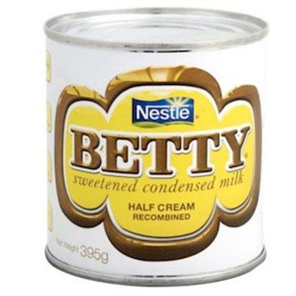 Nestle BETTY sweetened condensed milk 395g