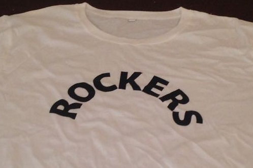 ROCKERS White Tshirts XL (Rockers International official merchandise)