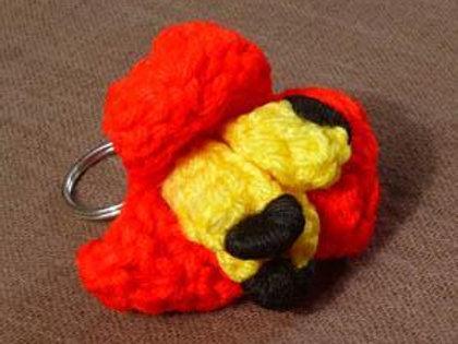 Ackee Keyring handmade by Rastaman