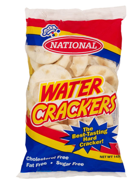 NATIONAL - Water Crackers 143g