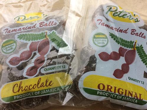 Peter's Tamarind Balls (Tambrin Balls) CHOCOLATE