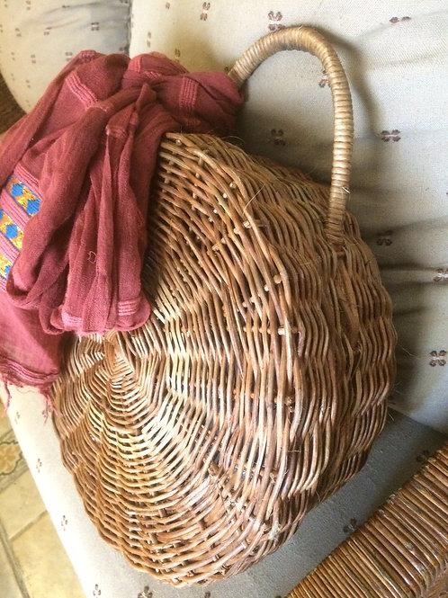 Wicker Basket Handbag by Rastaman Owen
