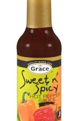 GRACE Sweet n' Spicy Hot Pepper Sauce 142ml