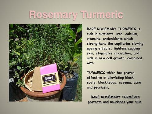 Bare Jamaican Natural Soap - Rosemary Turmeric