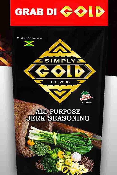 SIMPLY GOLD All Purpose Jerk Seasoning 10oz