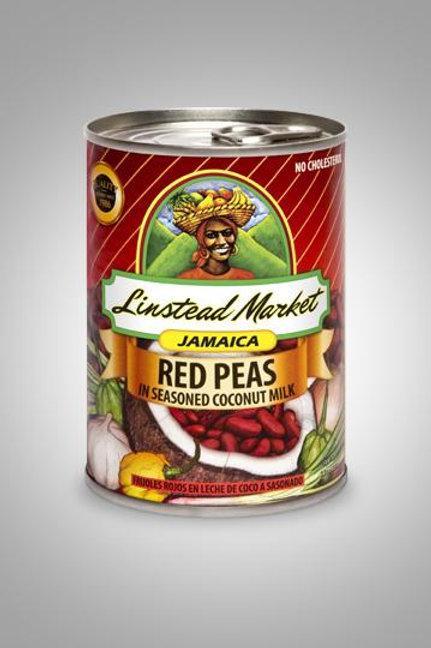 Red Peas in seasoned coconut milk (Linstead Market)