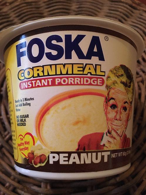 FOSKA CORNMEAL Peanut Instant porridge 60g