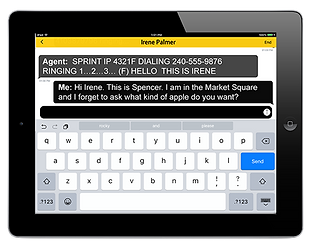 Sprint IP Relay using a tablet