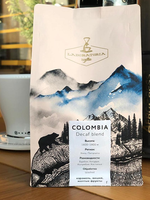 COLOMBIA DECAF BLEND 250 гр