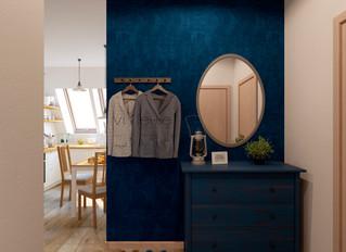 Дизайн интерьера в узких коридорах
