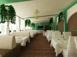 Зимний сад в ресторане Кристалл Пала