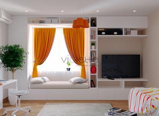 Дизайн-проект небольших квартир