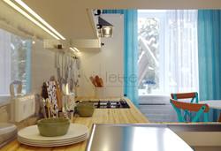 Легкий бриз на белой кухне