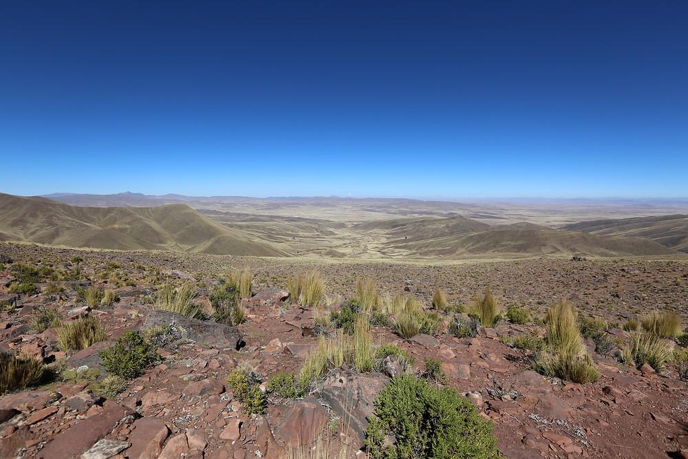 ボリビアの空は蒼い