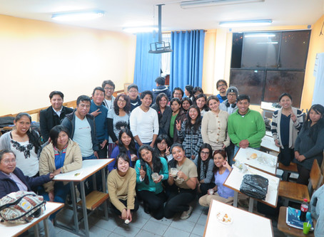 海外インターンシップ・ボリビア日本語教師・ボリビア料理交流会