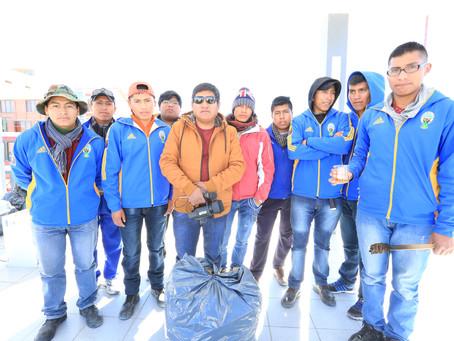 ウユニ塩湖環境保全キャンペーン