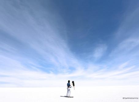 ウユニ塩湖ウェディングフォトno.1