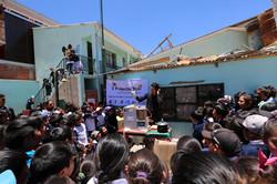 ウユニ小学校リサイクルプロジェクト