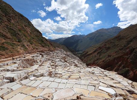ペルー・マラス塩田・自然の贈り物