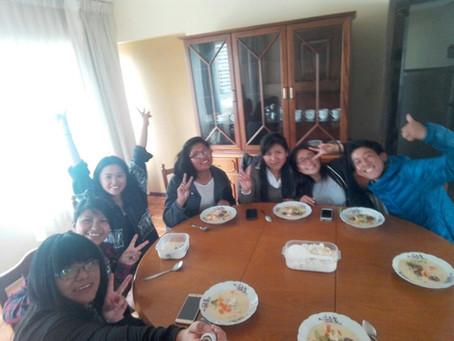 ボリビアで日本食教室:ボリビア日本語教師インターン