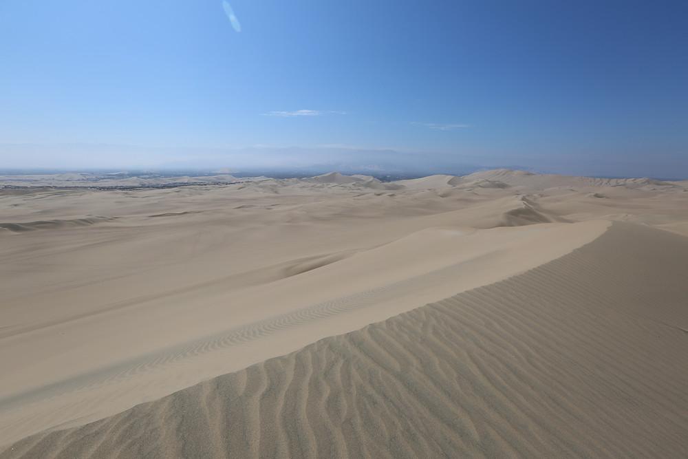 広がる海岸砂漠