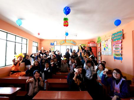 ウユニ塩湖プロジェクト・ウユニ小学校での交流事業